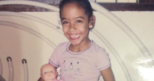 Mãe de Neymar publica foto da irmã do craque quando criança, e ...