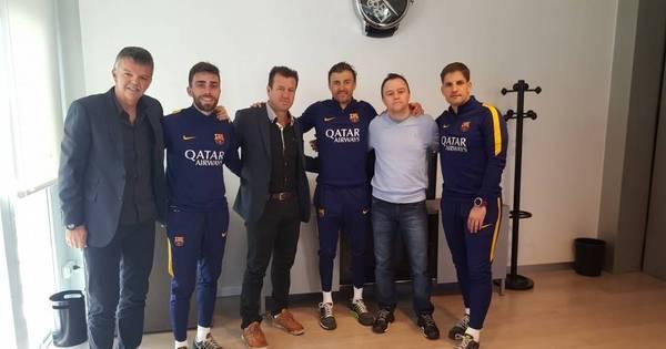 Dunga vai a Barcelona para tentar ter Neymar na Copa América e ...