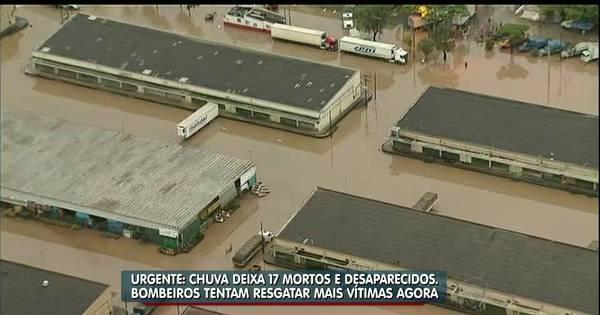Sobe para 17 o número de mortos causados pelas chuvas na ...