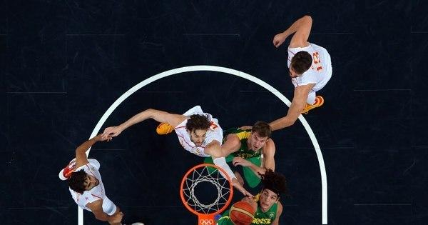 Brasil enfrenta Espanha e Argentina na fase de grupos do basquete ...