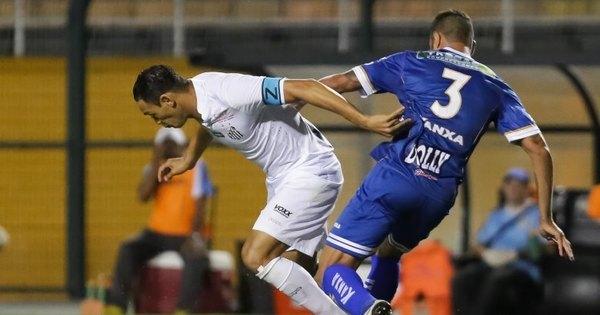 Com boa atuação, Santos vence Água Santa com gol de Rafael ...