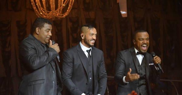 Após polêmica, Alexandre Pires, Belo e Luiz Carlos cantam juntos ...
