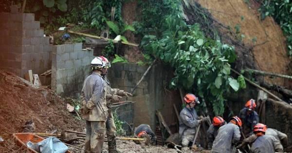 Bombeiros continuam buscas por desaparecidos em Mairiporã ...