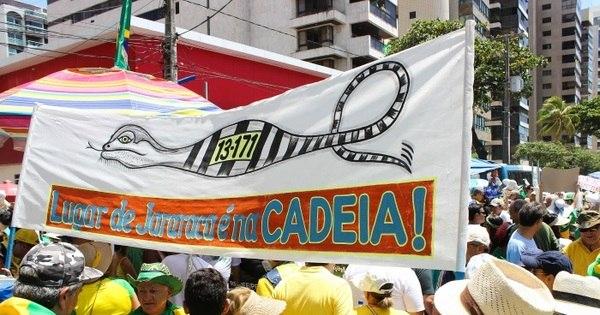 Recife tem manifestações contra e a favor do governo - Notícias ...