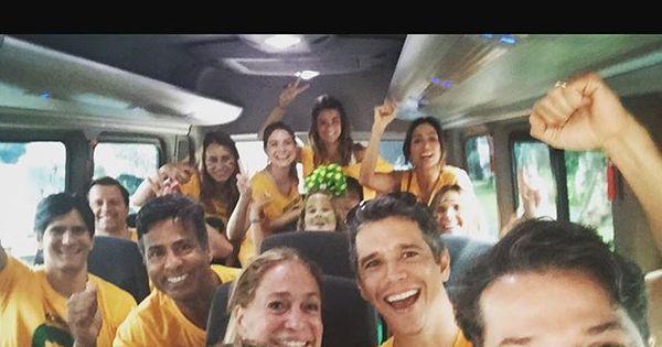 Famosos vão à manifestação contra corrupção no Rio de Janeiro ...
