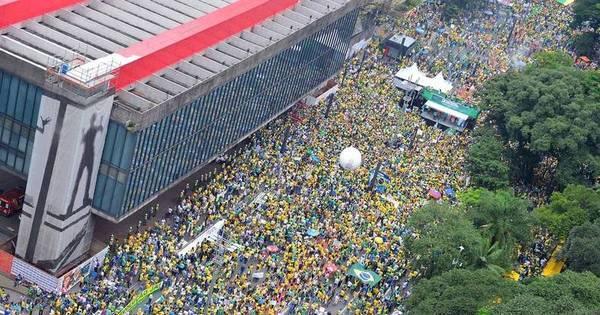 PM restringe acesso à manifestação na Av. Paulista por excesso de ...