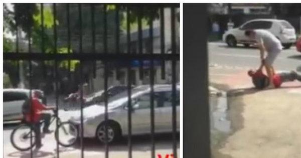 Motorista que agrediu ciclista após invadir ciclofaixa é intimado para ...