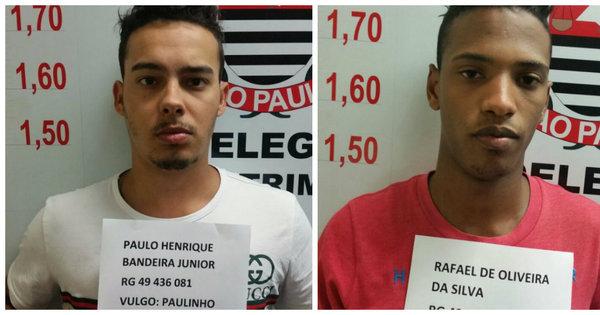 Dois são presos suspeitos de roubo em joalheira no shopping ...