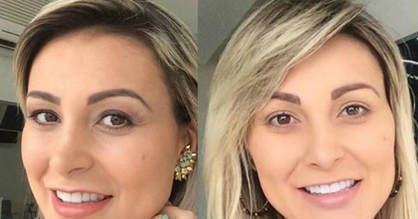 Andressa Urach muda o visual e alonga os cabelos - Fotos - R7 ...