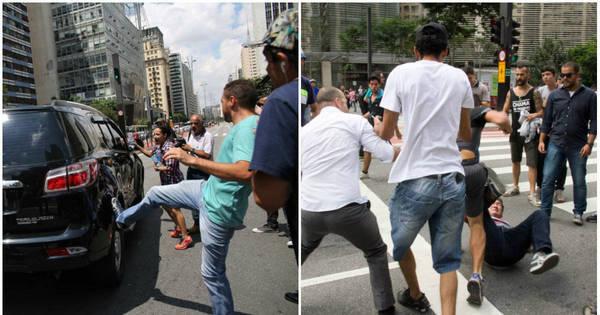 Secretário da Segurança é vaiado e manifestantes brigam durante ...