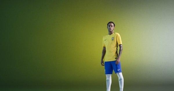 Nike revela mais detalhes do novo uniforme da seleção brasileira ...