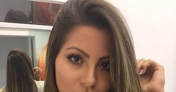 Andressa Ferreira, namorada de Thammy, muda o visual e fica loira ...