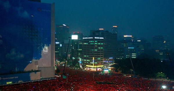 Deputado do PT publica foto da Coreia e escreve que é protesto pró ...