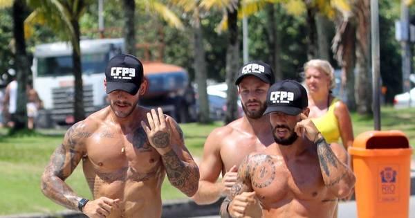 Lucas Lucco exibe corpo sarado em treino na praia - Fotos - R7 ...