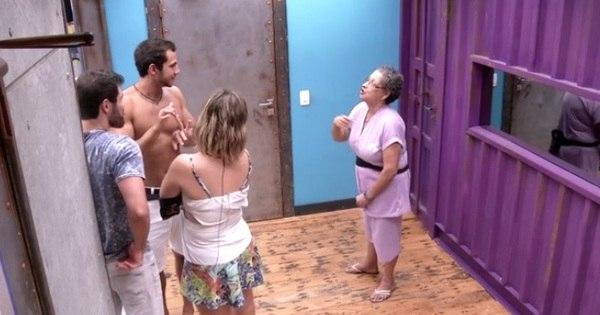 Durante festa, Matheus discute com Geralda e Ronan revela ser ...