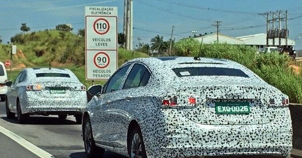Flagramos o novo Chevrolet Cruze em testes no Brasil - Notícias ...