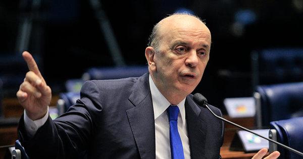 Serra diz esperar que Jucá volte a ser ministro: 'É meu sincero desejo'
