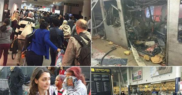 """Bélgica caça """"terceiro homem"""" após ataques do Estado Islâmico em ..."""