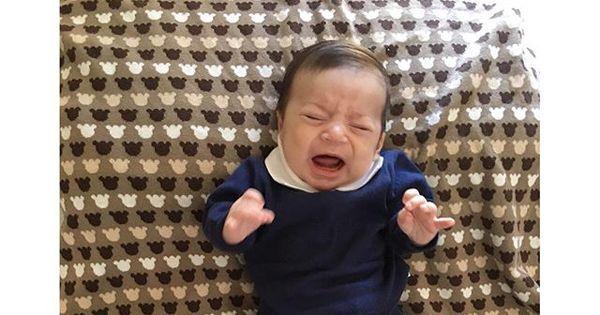 Sandro Pedroso mostra filho chorando após conhecer Leonardo ...