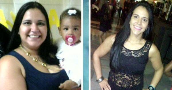 Mulher muda estilo de vida e passa de 126 kg para 70 kg sem usar ...