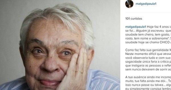 Emocionada, viúva de Chico Anysio relembra os 4 anos da morte ...