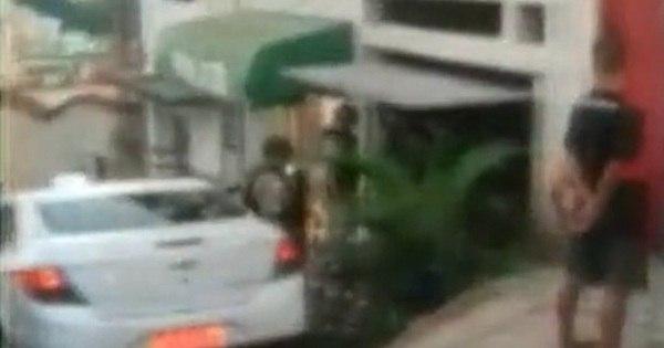Taxista acusa policiais militares de agressão durante abordagem ...