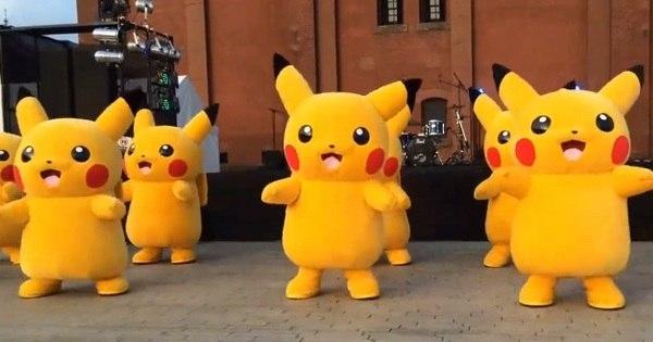 Exército de Pikachus dança música da Beyoncé em vídeo hilário