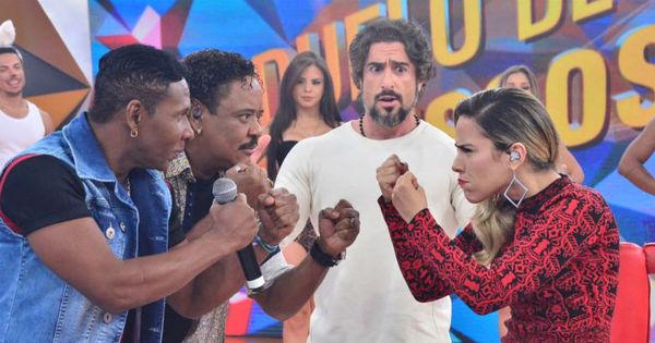 """Wanessa Camargo """"briga"""" com É o Tchan em duelo musical no ..."""