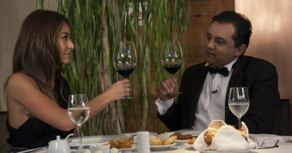 Geraldo Luís tenta conquistar o coração de Sabrina Sato em jantar ...