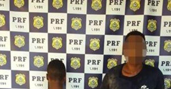 PRF prende assaltantes em flagrante em Feira de Santana ...