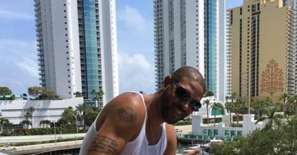 Adriano curte churrasco e amigos nos primeiros dias em Miami ...