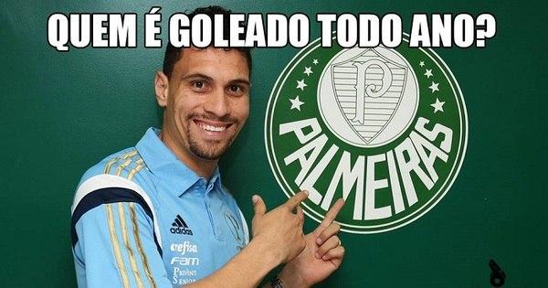 Palmeiras leva goleada e não escapa dos memes - Fotos - R7 Futebol
