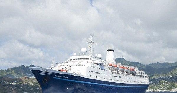 Idosa perde cruzeiro, tenta nadar até o navio e é resgatada após ...