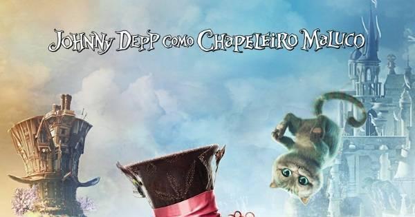 Johnny Depp conversa ao vivo com fãs no lançamento de Alice ...