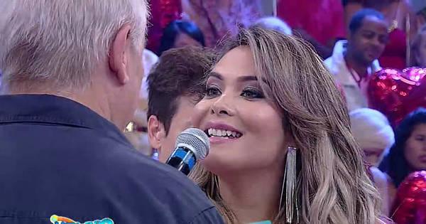 """Geisy Arruda se declara para Marcelo Rezende: """"Você é ..."""