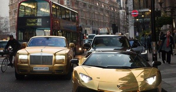Magnata árabe sai de férias e leva sua frota milionária de carros ...
