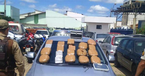 Dupla é presa com 20 kg de maconha em Vitória da Conquista ...
