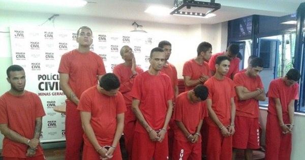 Polícia prende 14 suspeitos de homicídios na Grande Belo Horizonte