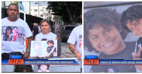 RJ é condenado a indenizar família de menino morto na porta de ...