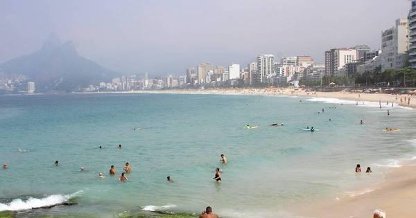 Com previsão de chuva à noite, Rio tem sensação de 41,9°C e ...