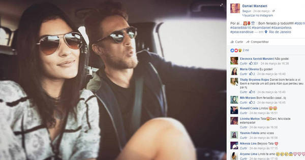 Mãe de ex-BBB Daniel reprova namoro do filho nas redes sociais ...