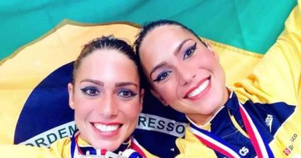 Convocadas para primeiras Olimpíadas, gêmeas do nado ...