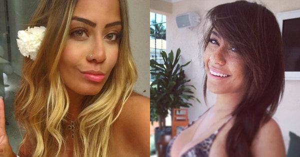 """Irmã de Neymar está mais linda e loira do que nunca! Veja o """"antes ..."""