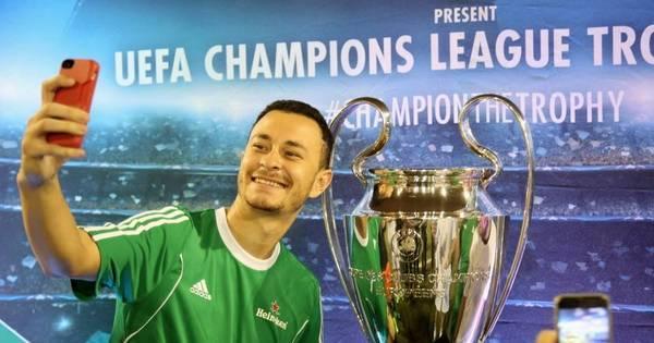 Taça da Liga dos Campeões chega ao Brasil para exposição em ...