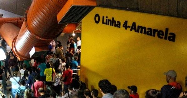 Obra da Linha 4 do Metrô de SP deve custar mais R$ 850 milhões ...