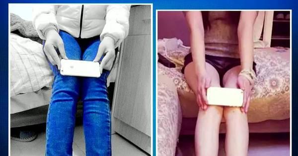 Novo desafio: jovens colocam smartphone nos joelhos para medir a ...