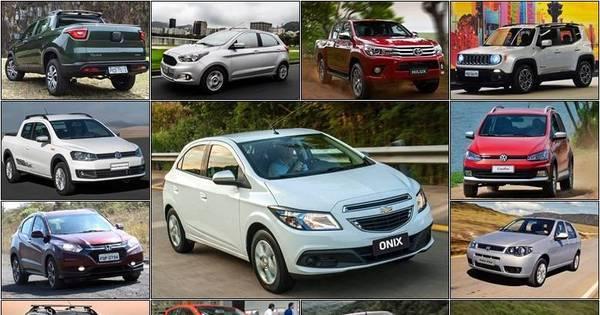Onix segue líder, seguido de Hyundai HB20 e Ford Ka: veja os 50 ...