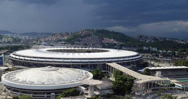 Simulação da abertura dos Jogos fecha entorno do Maracanã neste ...