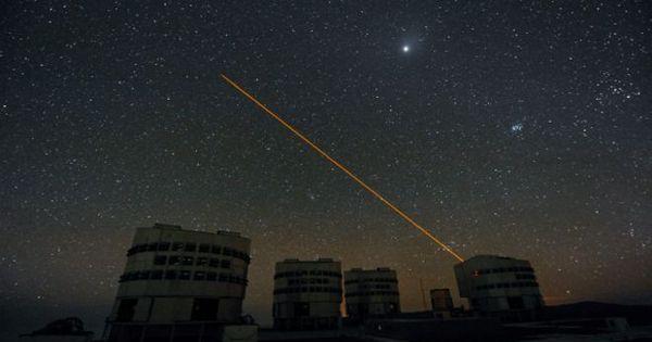 Pesquisadores sugerem usar laser para esconder Terra de aliens ...
