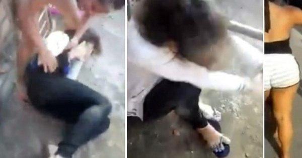 Adolescente é espancada e humilhada por rivais em SP - Notícias ...